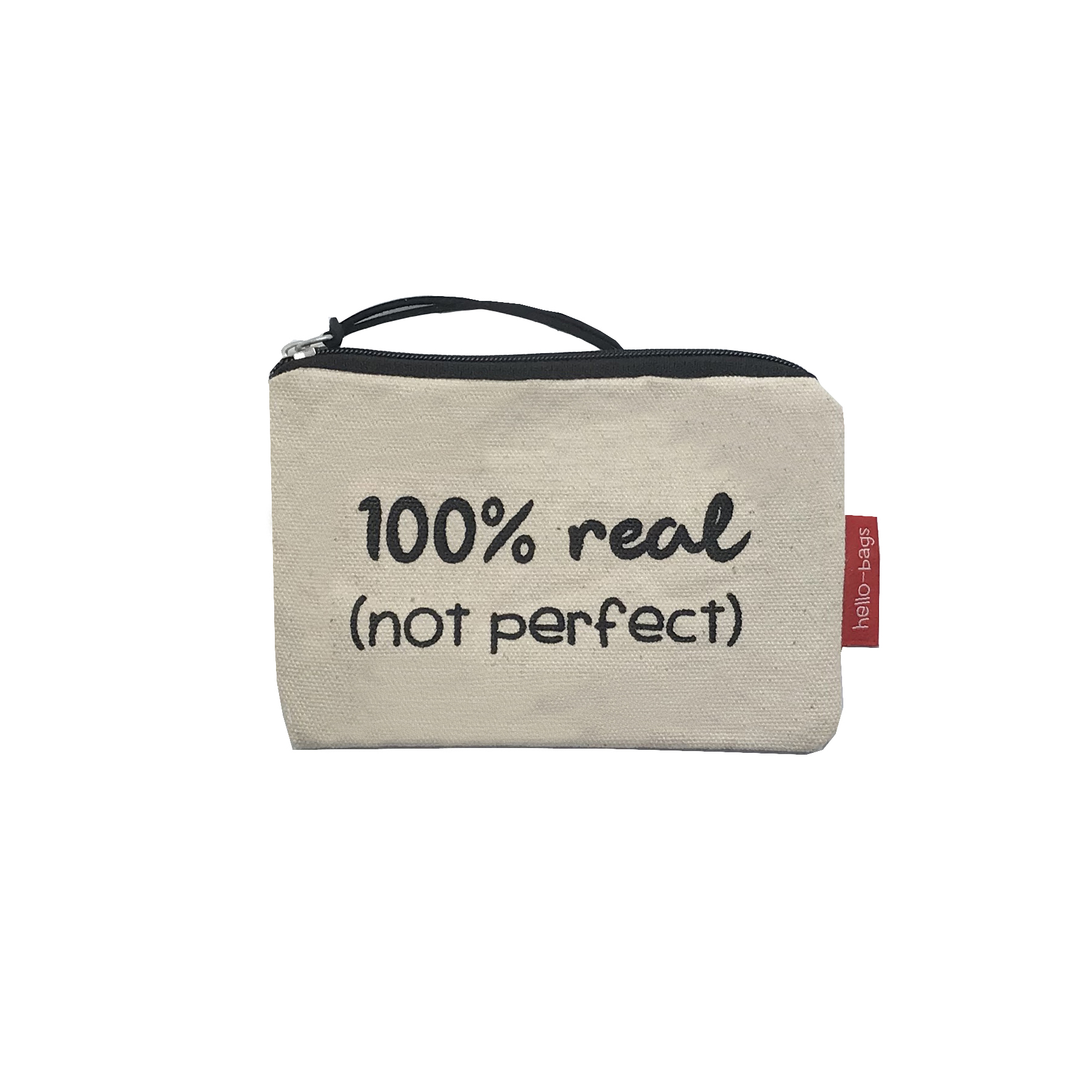 "Bolsa Pequena ""100% REAL (NOT PERFECT)"""
